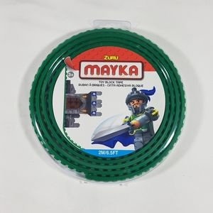 Zuru Mayka Green Toy Block Tape Lego Compatible
